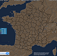 orages et foudre observation en direct